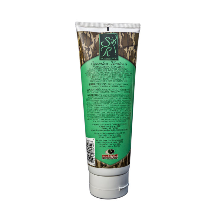 Southern Racks Scentless Huntress Volumizing Shampoo