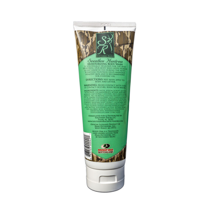 Southern Racks Scentless Huntress Moisturizing Body Wash