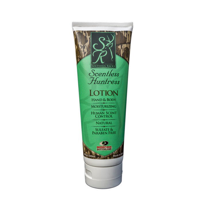 Southern Racks Scentless Huntress Moisturizing Lotion