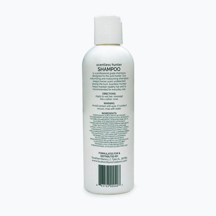 Southern Racks Scentless Hunter Shampoo SKU 863703000407