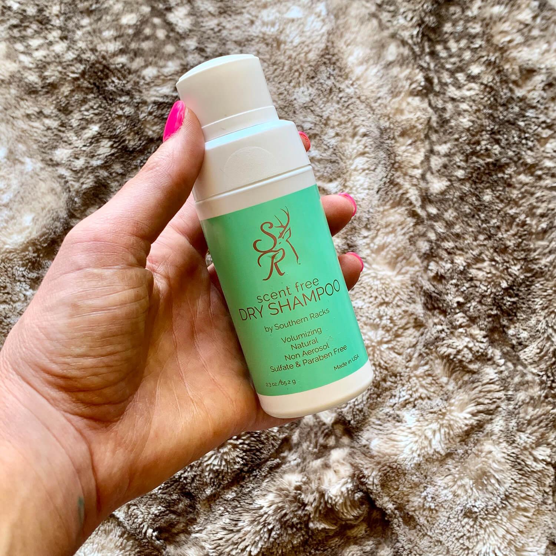 Southern Racks Outdoors Scent Free Dry Shampoo